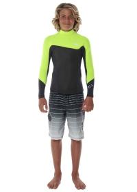 Boys' Foil 2MM Long Sleeve Jacket