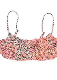 Moazambique Flounce Bikini Top